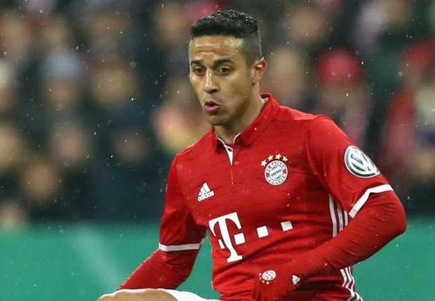 Thiago insists Bayern Munich are at same level as Real Madrid