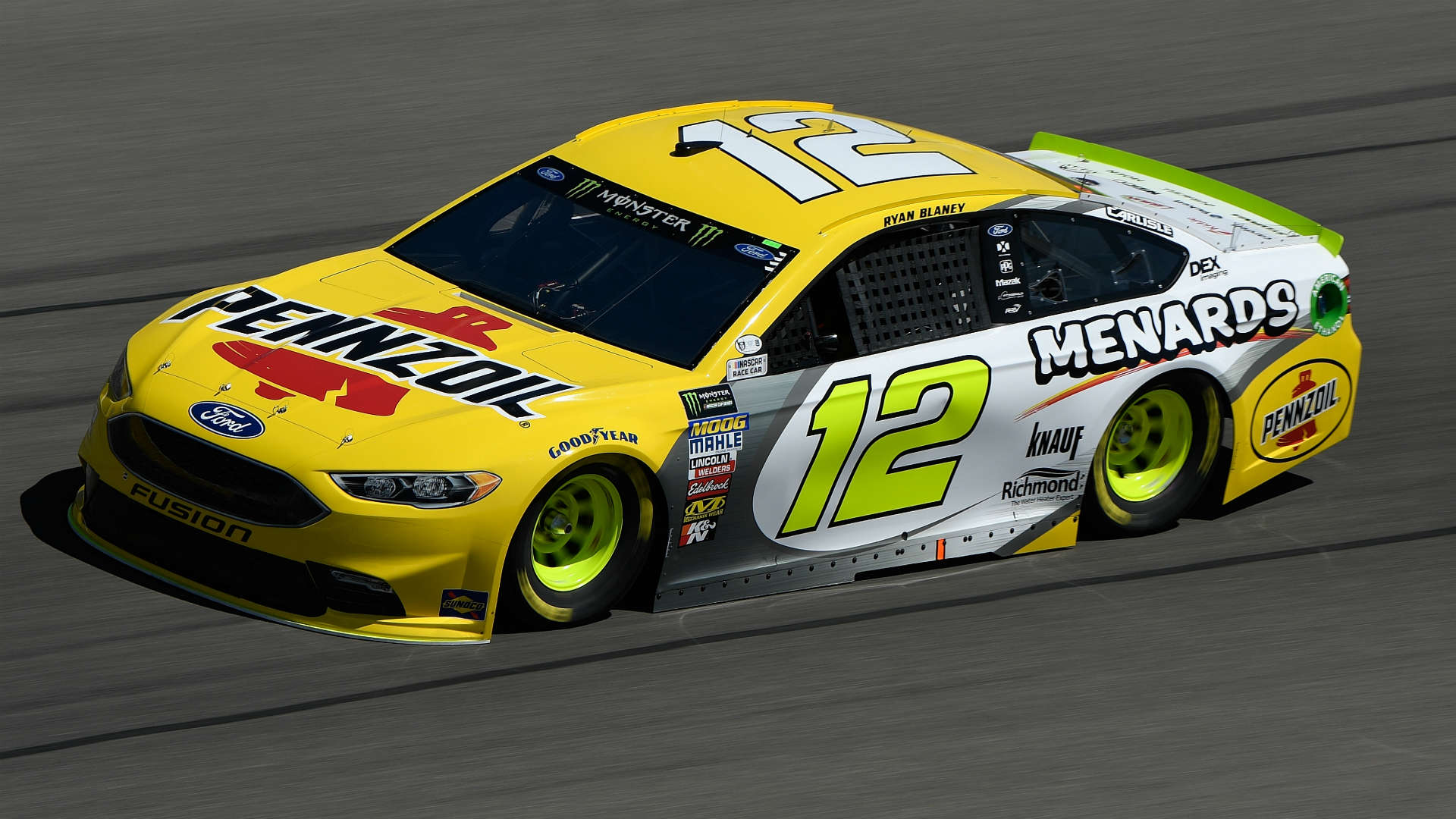 Nascar Starting Lineup At Las Vegas Ryan Blaney Claims The Pole