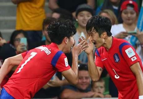 Asien Cup: Südkorea & Australien durch
