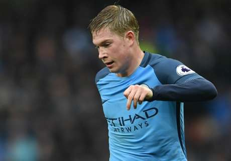 Man City face nervy De Bruyne wait