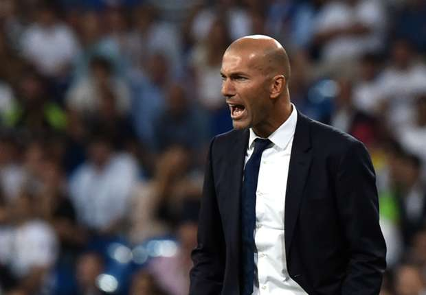 Zidane frustrated with Real Madrid's poor start