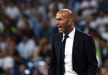 Zidane frustrated with Madrid start