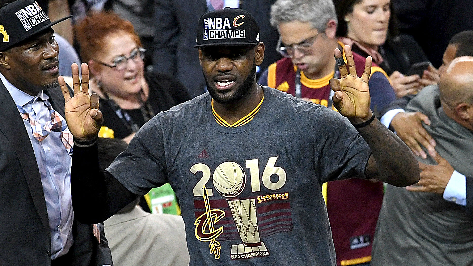 LeBron James Named NBA Finals MVP For Third Time