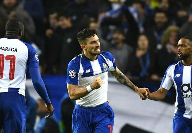 Porto full-back Alex Telles