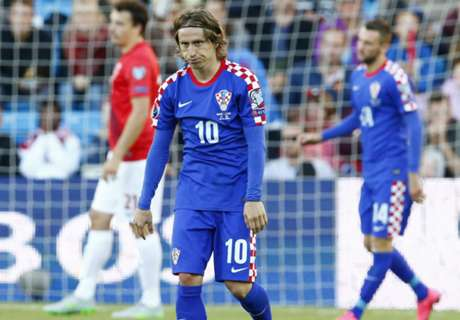 Cacic: Modric subbed due to pain
