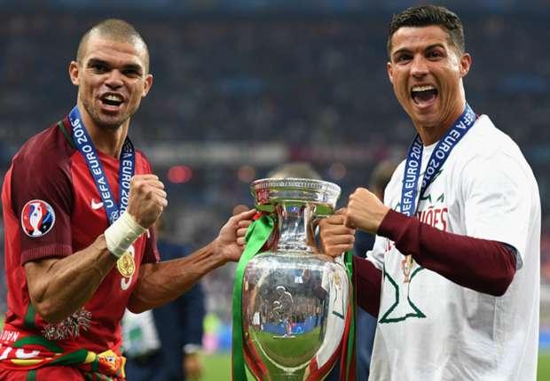 Pepe dodges questions on Cristiano Ronaldo's future