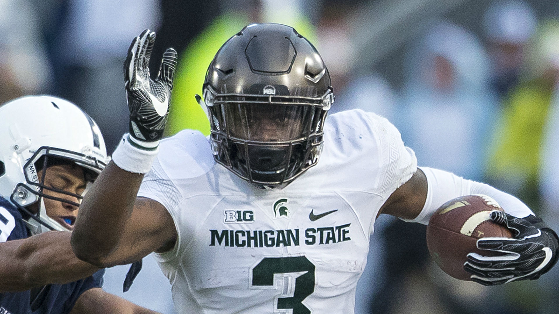 Michigan State RB LJ Scott arrested, charged with 7th driving infraction