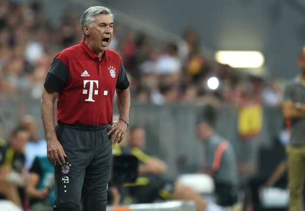 Ancelotti: Allianz debut was like first day at school