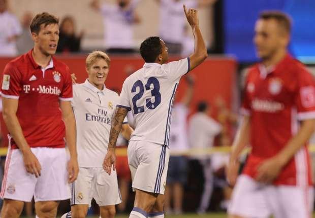 Real Madrid full-back Danilo