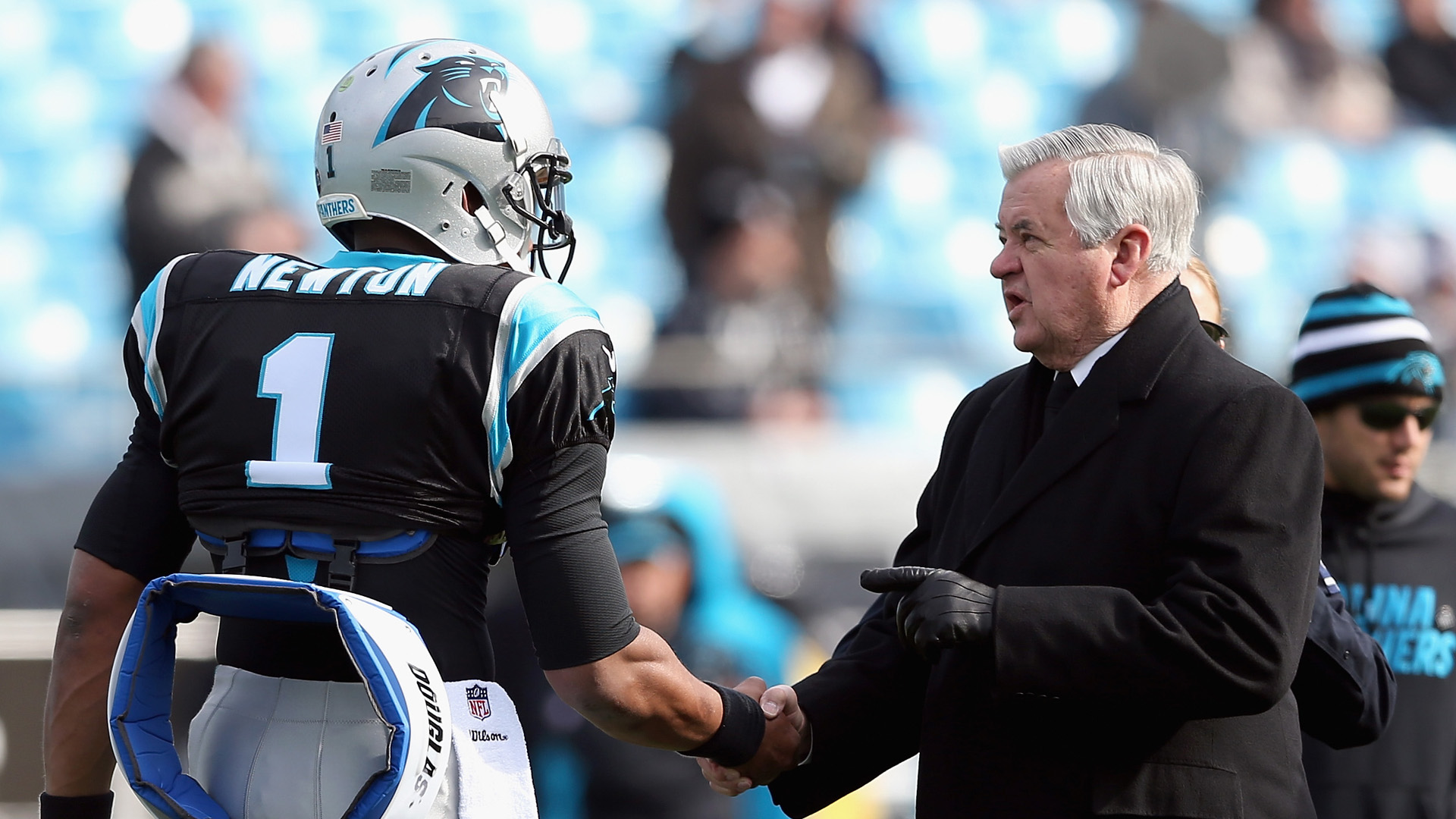 Panthers QB Cam Newton gets first tattoo, something reportedly forbidden by Jerry Richardson
