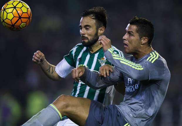 Real Betis star blasts Ronaldo over 'ugly act of aggression'
