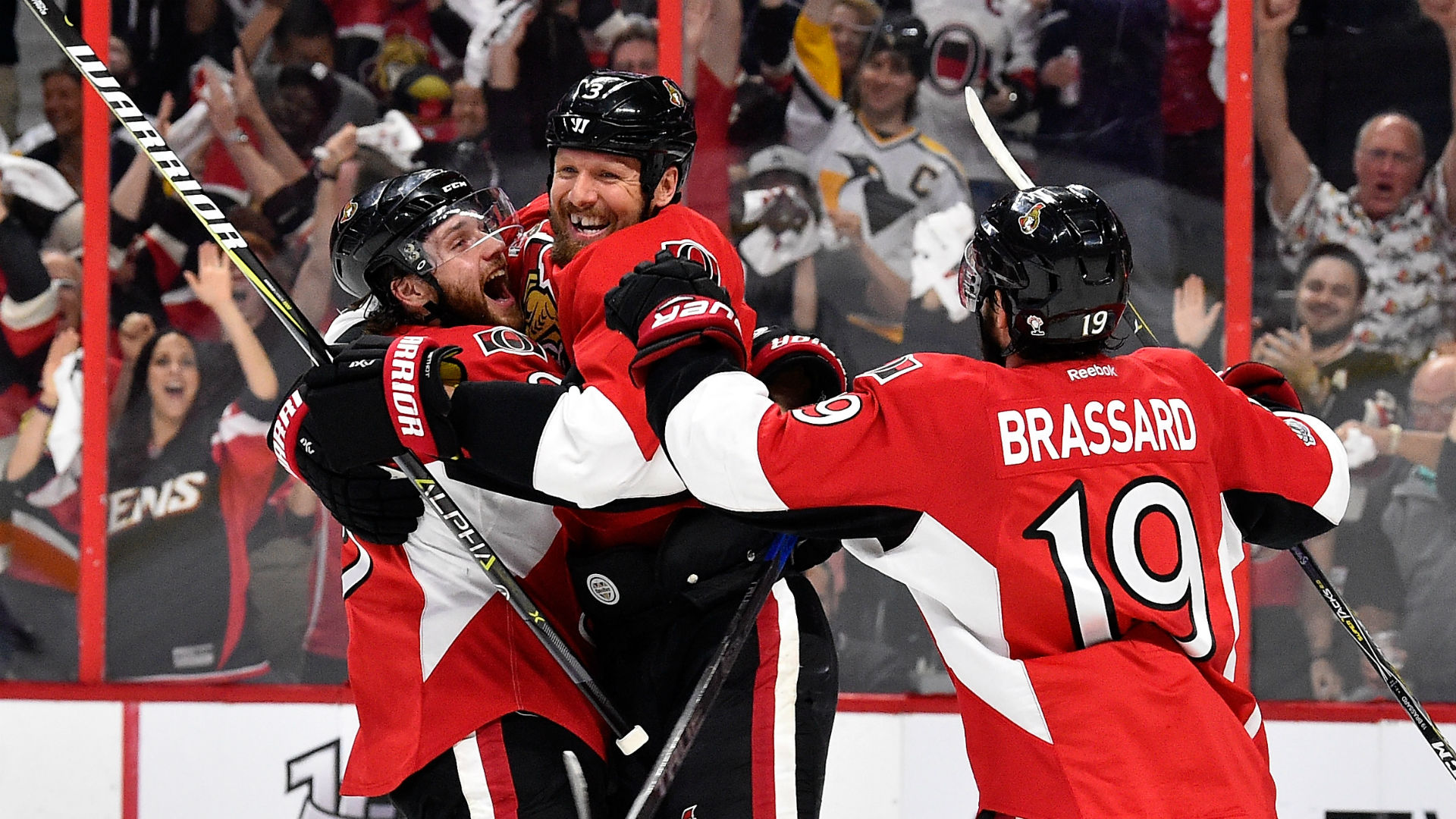 Senators chase Fleury, rout Penguins in Game 3