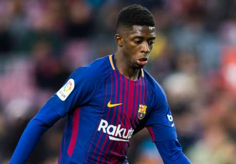 Barcelona star Dembele out for another month