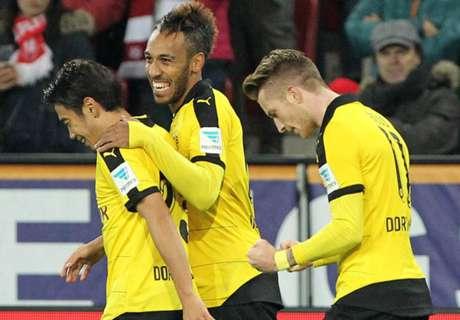 Mainz 0-2 Dortmund: Reus ends drought