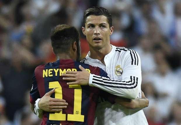 Image result for Neymar with Cristiano Ronaldo
