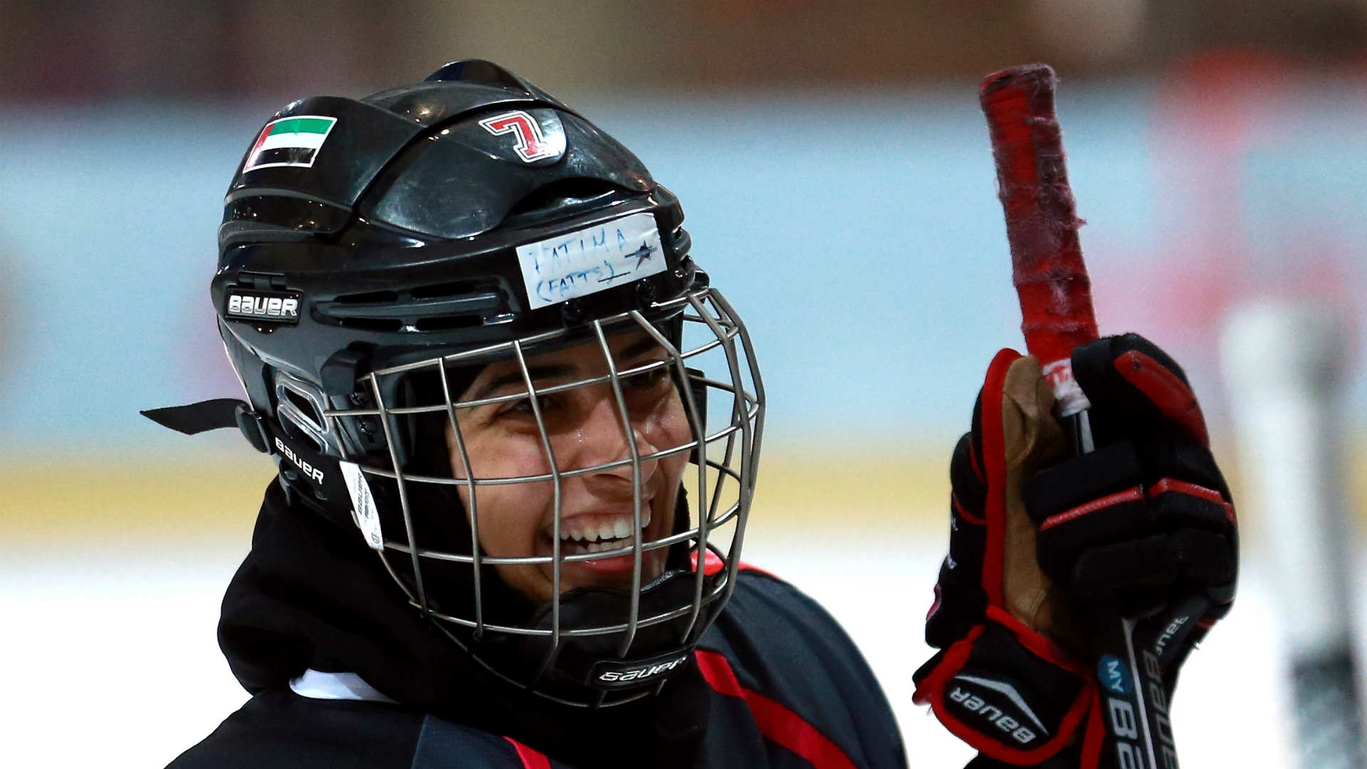 Capitals invite UAE women's hockey player to practice with them