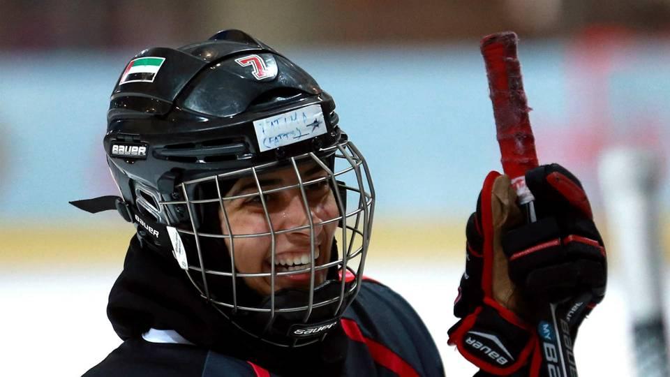 Meeting Alex Ovechkin dream come true for UAE women s prodigy · NHL 6d6515107c