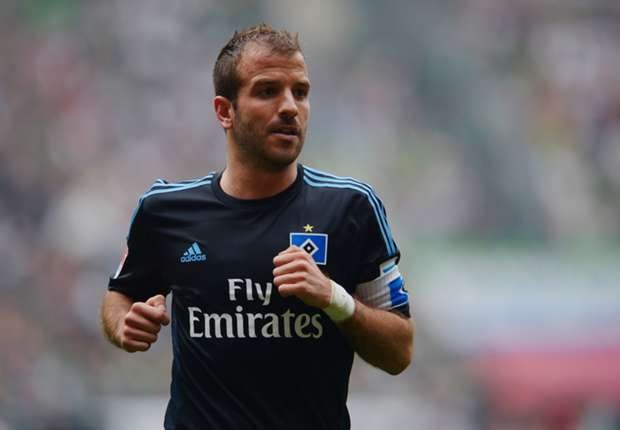 Van der Vaart: World Cup comes as a relief
