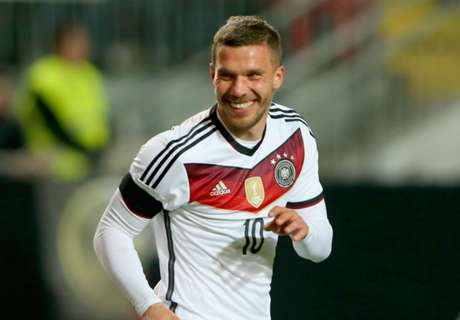 Podolski set for Gala medical