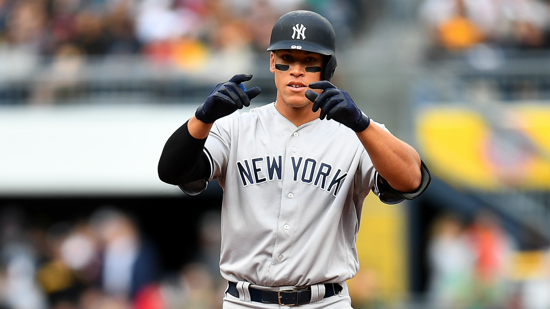 Aaron Judge Wallpaper Hd >> Joe Girardi said it: Yankees rookie Aaron Judge reminds of Derek Jeter | MLB | Sporting News