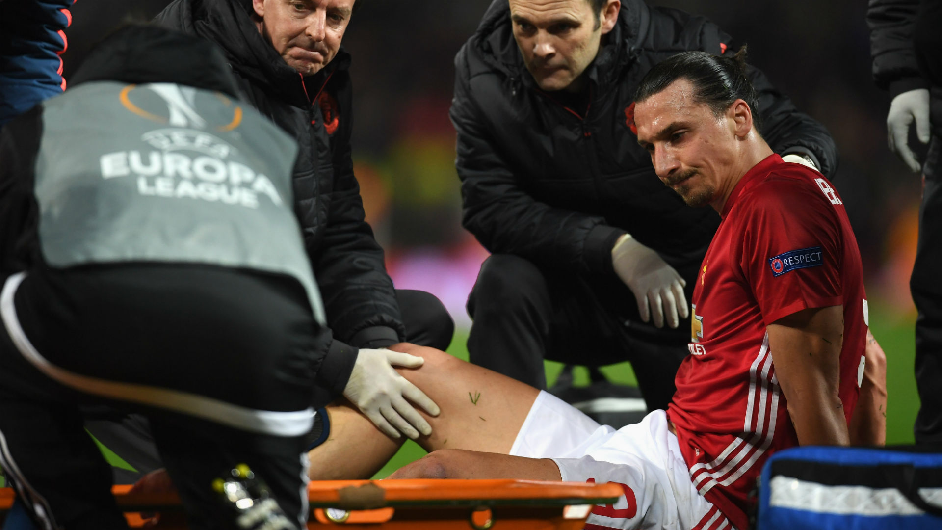 Jose Mourinho fears worst over Zlatan Ibrahimovic and Marcos Rojo injuries