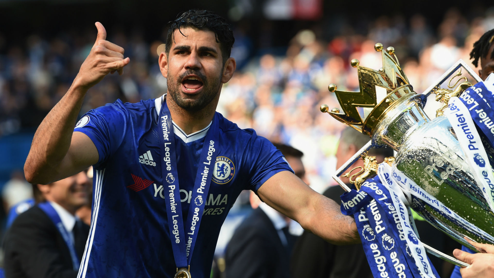 Atletico Madrid Coach Sidesteps Diego Costa Question