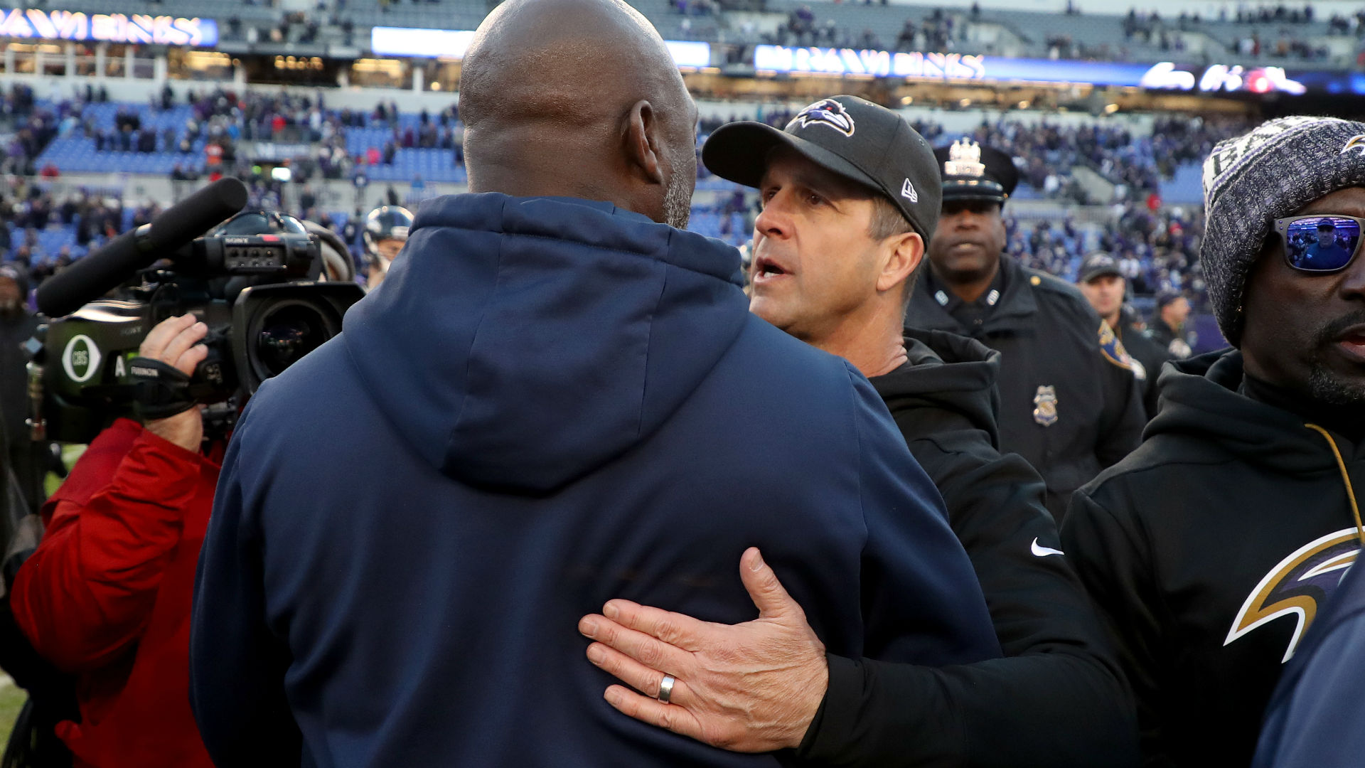 Ravens coach John Harbaugh has 'every expectation' of staying in Baltimore
