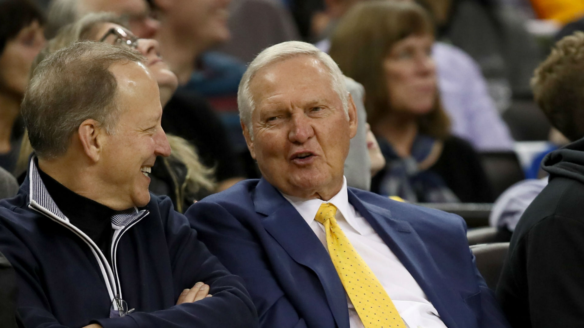 Jerry West doing fine after hospital visit for reported fall