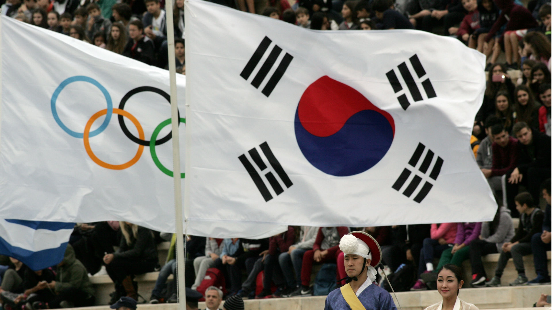 Koreas united on Winter Olympics
