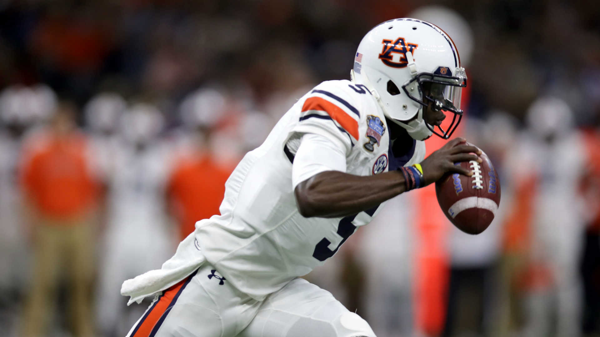 WR John Franklin III has left the Auburn football program
