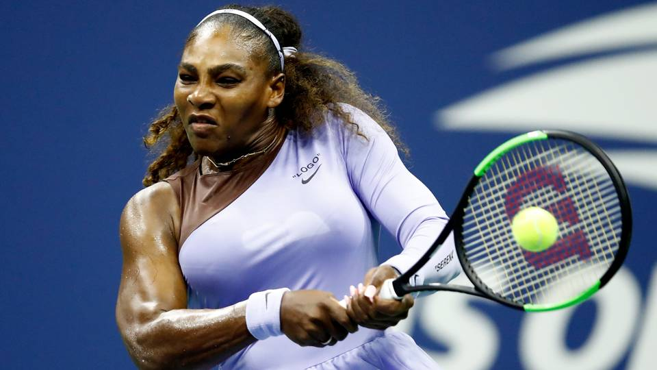 Image result for serena and venus 2018 us open