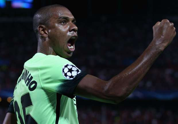 Fernandinho: Man City must stop Yarmolenko