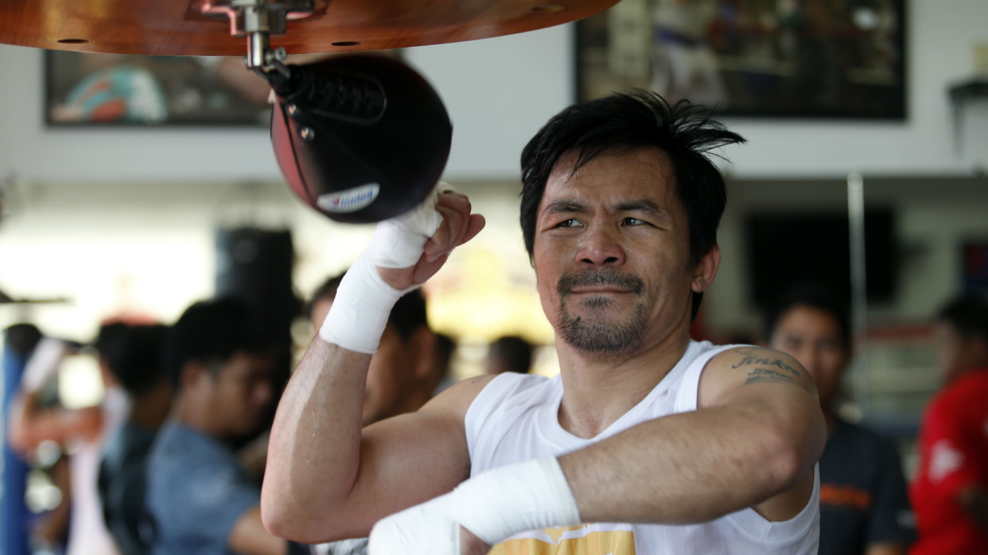 Matthysse isn't scared of Pacquiao's tag as