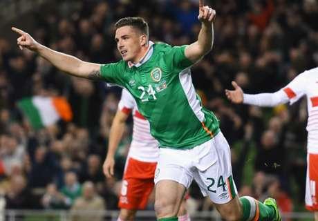 Ireland 1-0 Switzerland: Doyle injured