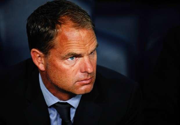 """De Boer: """"Geen intentie om Ajax te verlaten"""""""