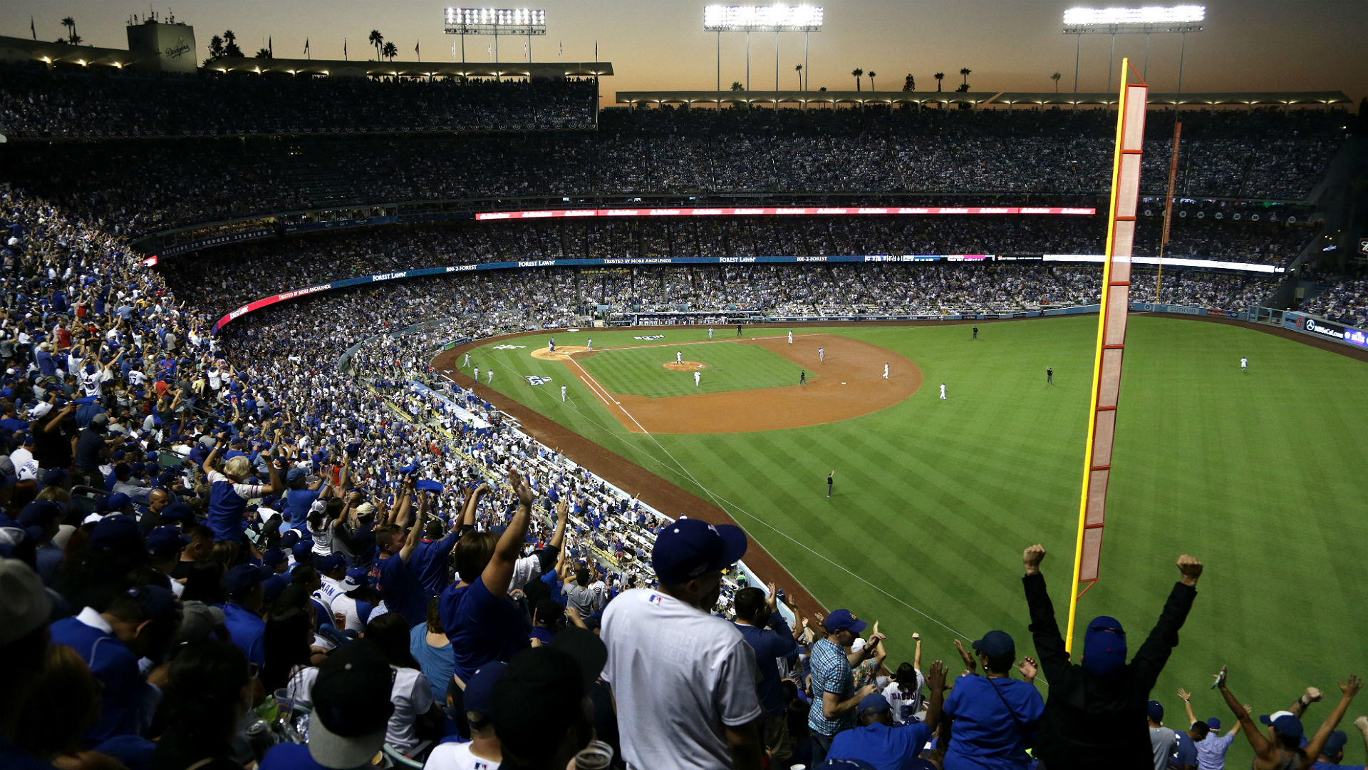 Dodgers reportedly soliciting naming rights for Dodger Stadium field