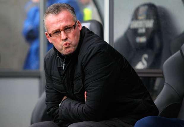 Aston Villa boss Paul Lambert.