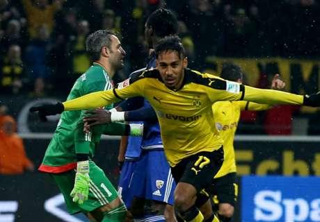 Dortmund 2-0 Ingolstadt: Late Aubameyang