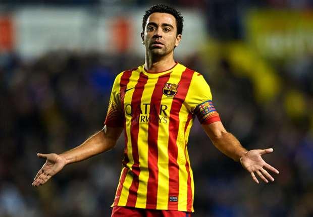 Xavi suffers injury setback