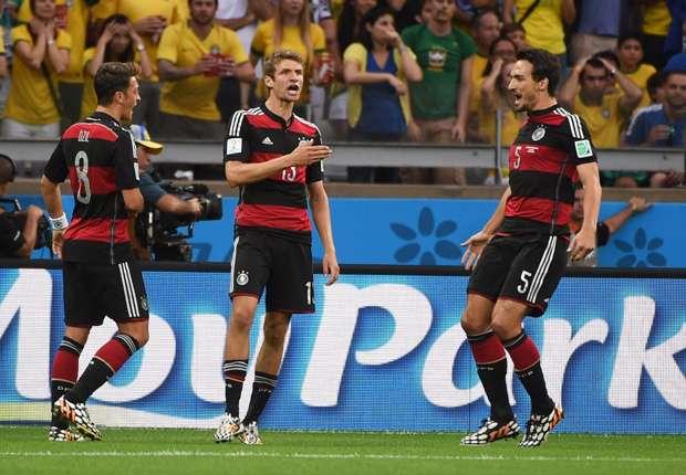 Contra Brasil, Alemania jugó solo