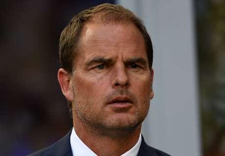 De Boer encouraged by winless Inter