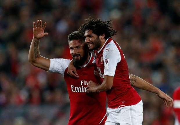 Western Sydney Wanderers 1 Arsenal 3: Giroud, Ramsey and Elneny on target in Gunners win