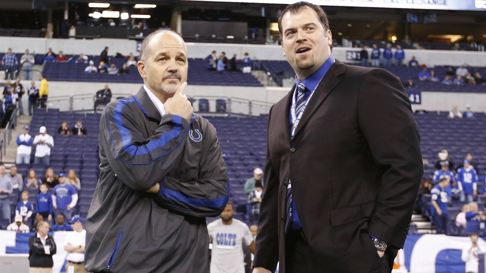 Report: Chuck Pagano's relationship with GM strained by Deflate-gate