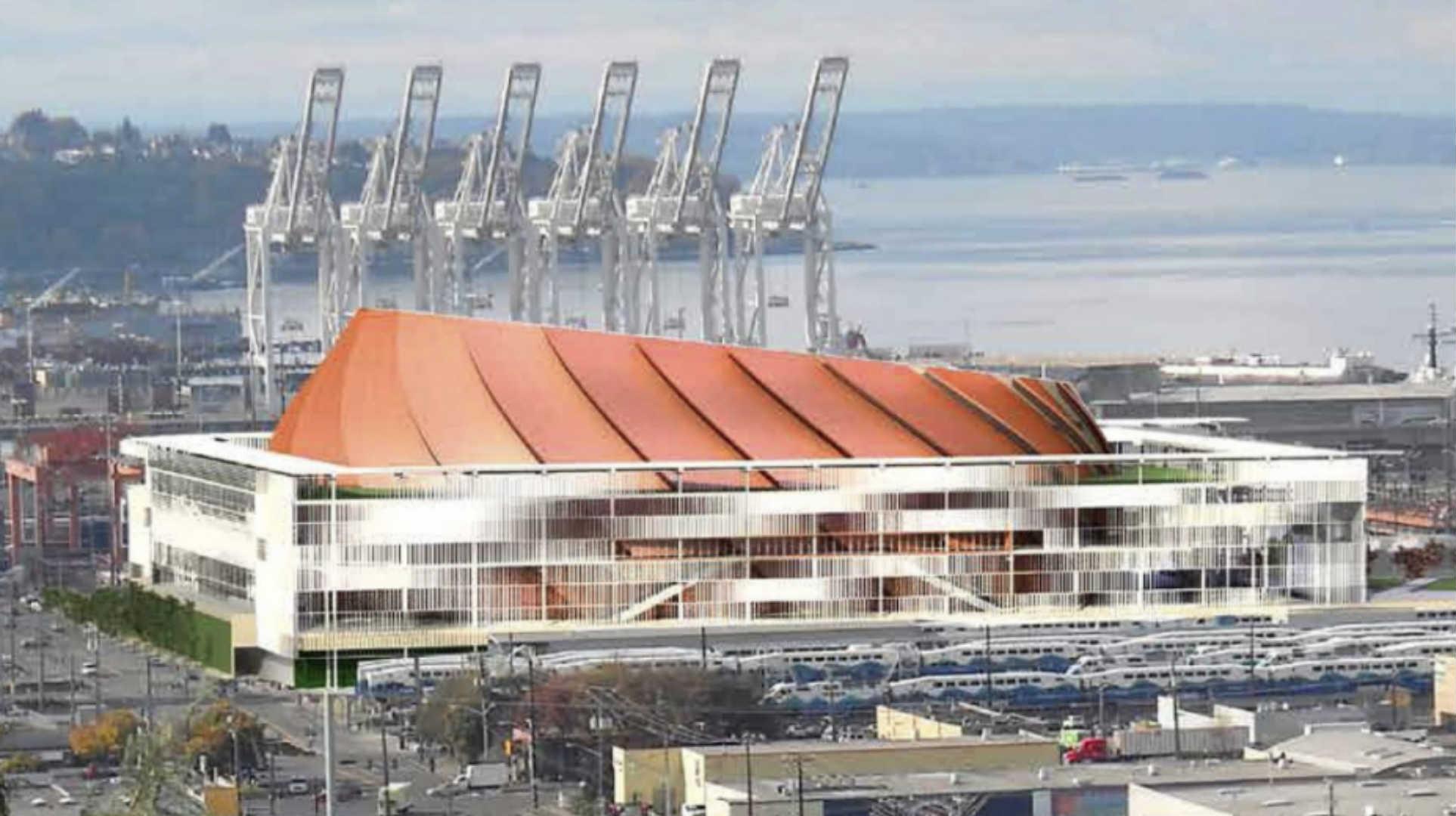 Preferred Seattle arena design