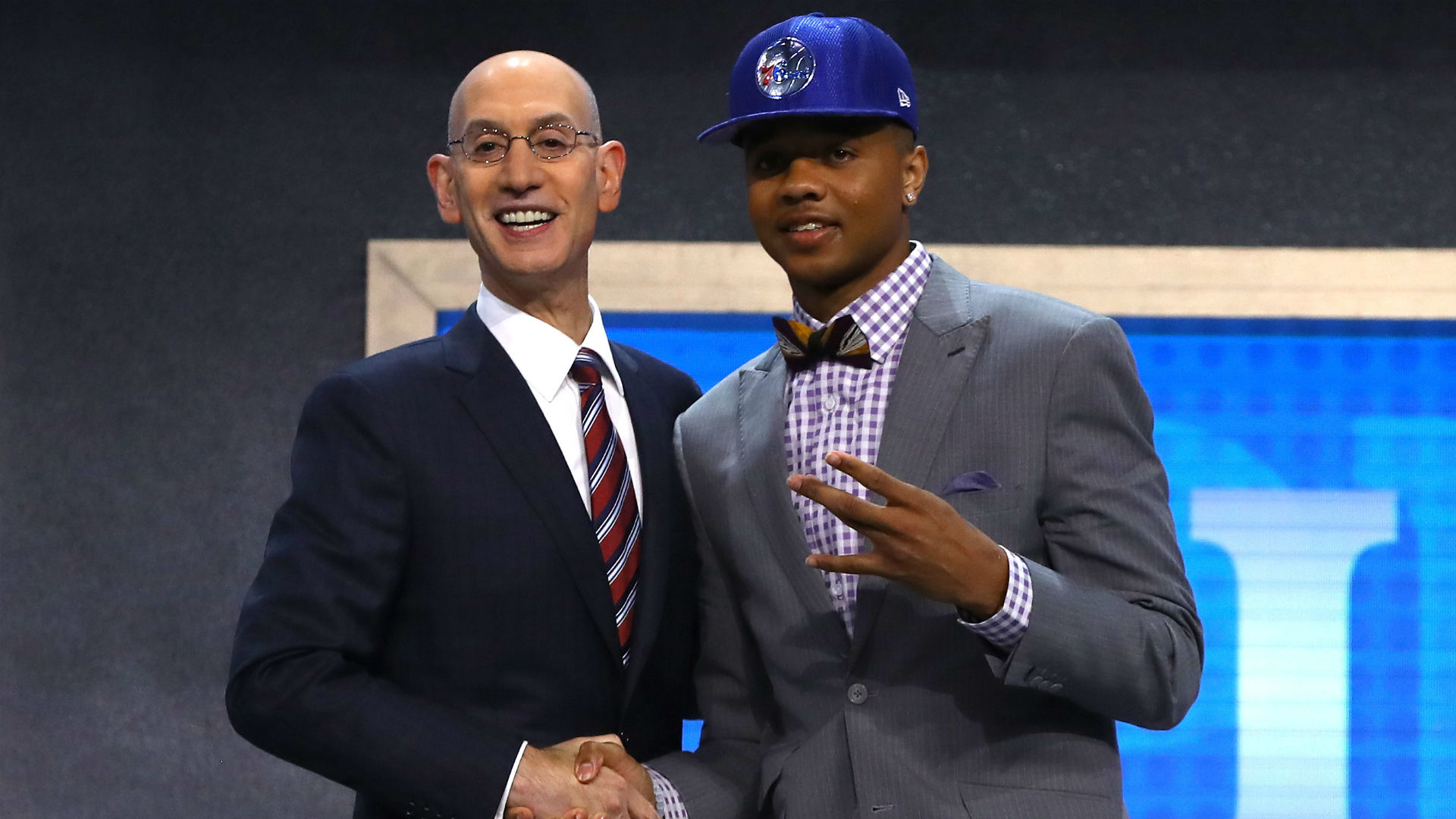 Sixers make Fultz top pick, Lakers snag Ball second