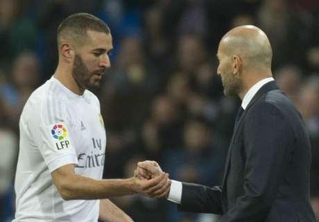 Zidane: Benzema upset over Euro 2016