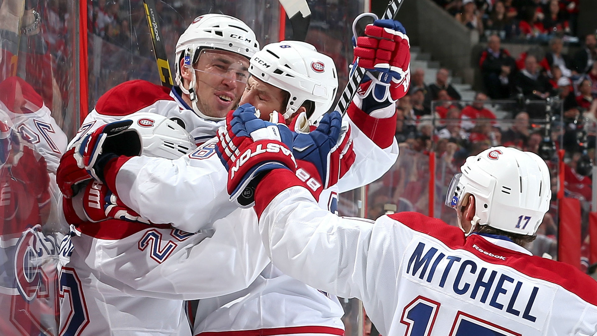 Stanley Cup playoffs roundup: Dale Weise scores twice, Canadiens take commanding 3-0 lead over Sens