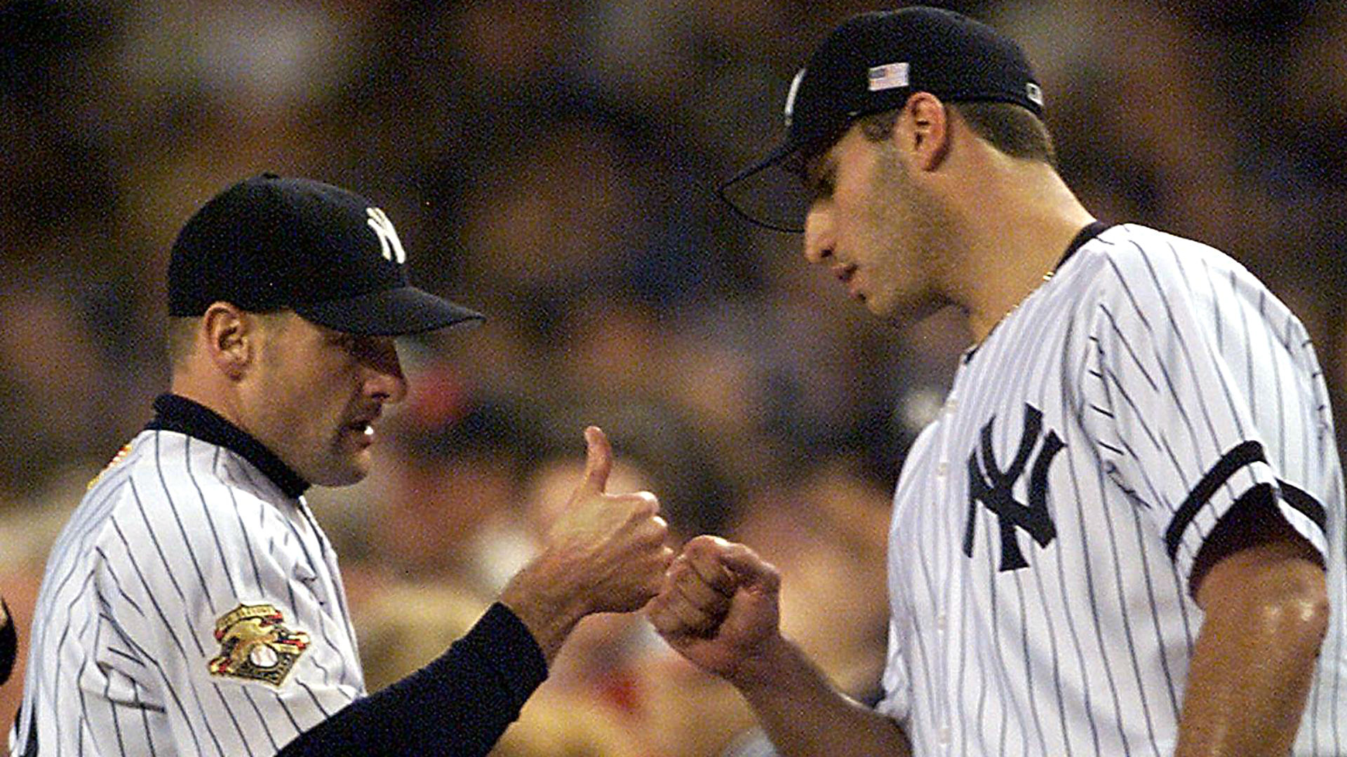 Chuck Knoblauch and Andy Pettitte