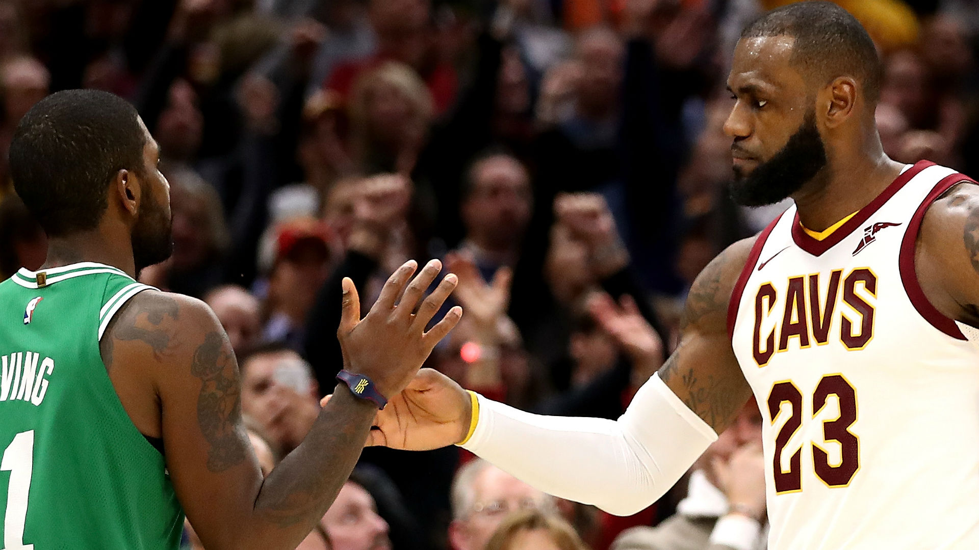 Kyrie Irving defends LeBron James: 'He checks every mark' in MVP race