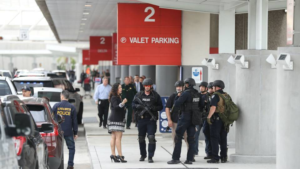 Law enforcement at Fort Lauderdale airport